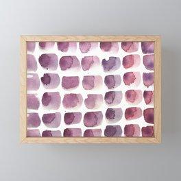 brushstrokes Framed Mini Art Print