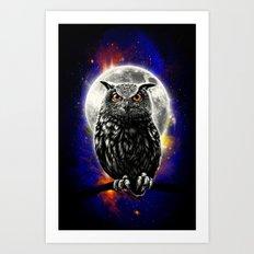 'The Watcher' Art Print