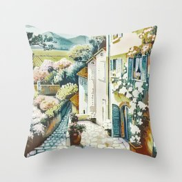 The city of eternal spring Throw Pillow