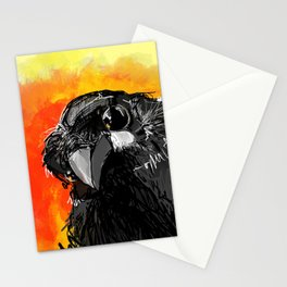 Curious Crow Stationery Cards