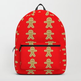 gingerbread cookie christmas Backpack