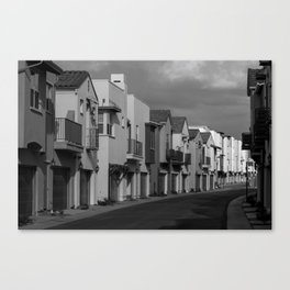 All the People Canvas Print