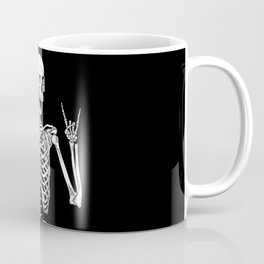 Rock Star Skeleton Coffee Mug
