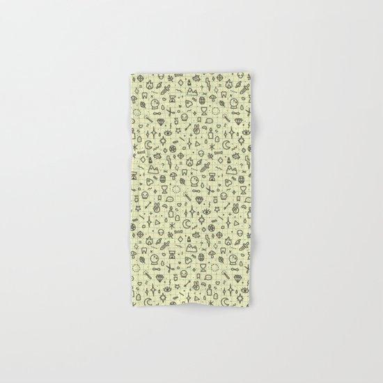 Doodles Pattern Hand & Bath Towel