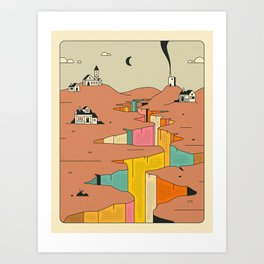 DENIZENS (4) Art Print