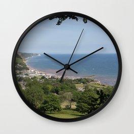 Jurassic Seascape  Wall Clock