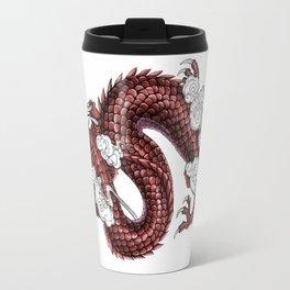Japanese Dragon 竜 Travel Mug
