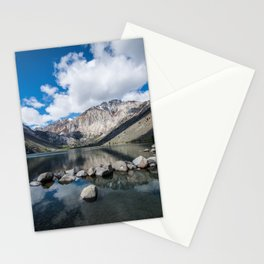 Convict Lake in the springtime in California Stationery Cards