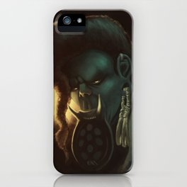 The look of an animal iPhone Case