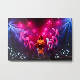 KOD CONCERT - J.COLE BY ANTHONY SUPREME Metal Print
