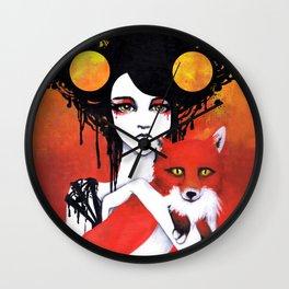 Fauna Goddess of Animals Wall Clock