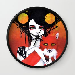 Fauna Goddess of Animals Wall Clock