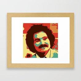 Gabe Kaplan Framed Art Print