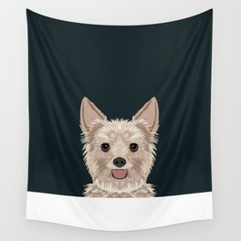 Tanner - Yorkshire Terrier gifts and gifts for dog person and dog people gift ideas Wall Tapestry