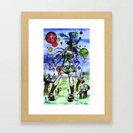 Teaparty Z Framed Art Print
