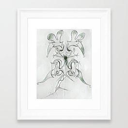 Origins memorial tatt sample w/o mirror Framed Art Print