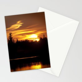 Northern Sunset 001 Stationery Cards