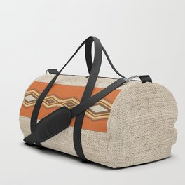 Southwestern Earth Tone Texture Design Duffle Bag
