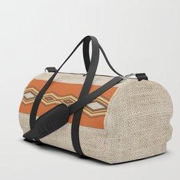 Southwestern Earth Tone Texture Design Duffle Bag