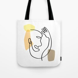 person hands 1 Tote Bag