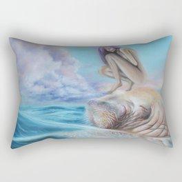 Never Alone Rectangular Pillow
