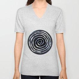 Cool Spiral Unisex V-Neck