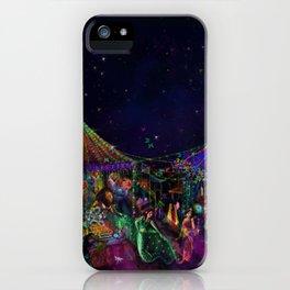 Magical Night Market iPhone Case