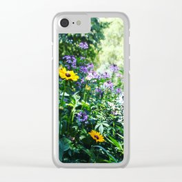 Pops of Color Clear iPhone Case