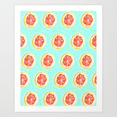 Grapefruit II Art Print