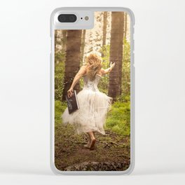 Book of Magic Clear iPhone Case
