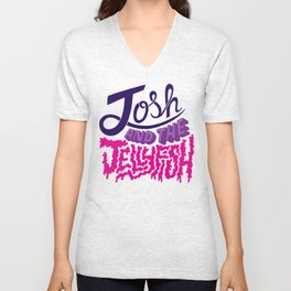 Josh and the Jellyfish Unisex V-Neck