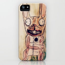THE BUNNY! iPhone Case