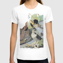12,000pixel-500dpi - Ruffed Grouse - John James Audubon T-shirt