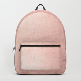 Blush Rose Gold Ombre  Backpack