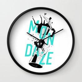 Mondaze II Wall Clock