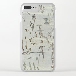 Doddle-Rama Clear iPhone Case