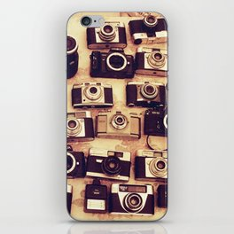 I love analogue photography iPhone Skin