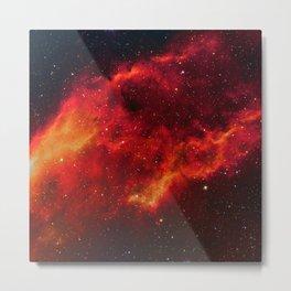 Nebula in Constellation Perseus Metal Print