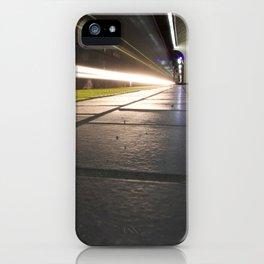 Motion Blur Granville Skytrain 1 iPhone Case