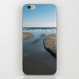Desemboca la calma iPhone Skin