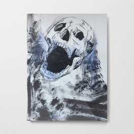 The Modern Scream Metal Print