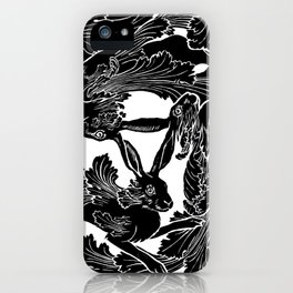 The Three Hares iPhone Case