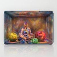 buddah iPad Cases featuring Seelenpflege by teddynash