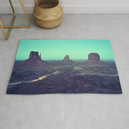 monument valley 5 Rug