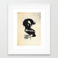 supernatural Framed Art Prints featuring Supernatural by Pete Baker