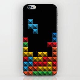 Tetris Blocks iPhone Skin