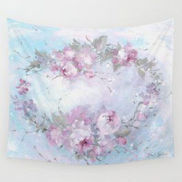 Crown Rose Wall Tapestry