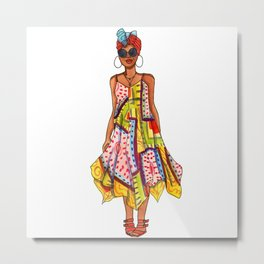 Sundress Metal Print