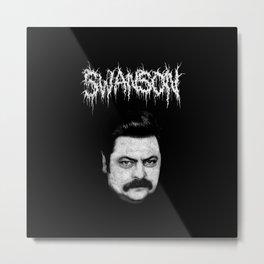 Swanson Metal Print