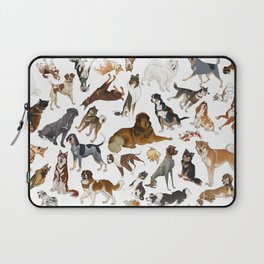 i love dogs Laptop Sleeve